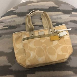 Coach tote for sale